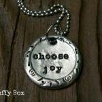 Choose Joy Pewter Wax Seal..